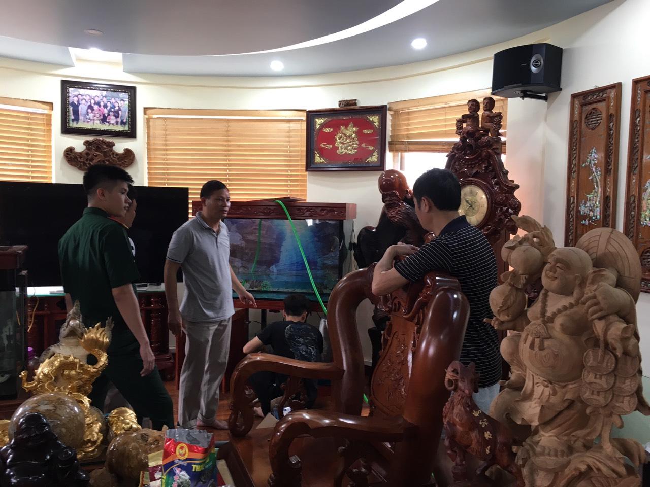 Bán bể cá rồng tại Hà Nội, lắp đặt tận nơi nhanh chóng