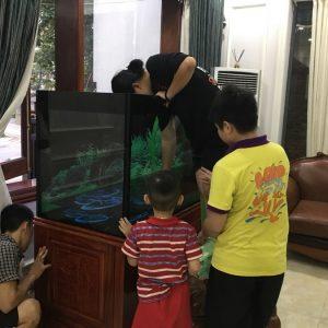 Bể cá rồng nhà anh Trọng TP Việt Trì 4
