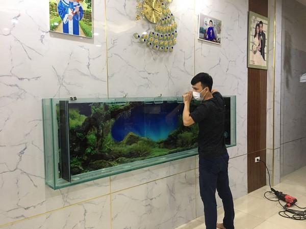 bể cá treo tường 2