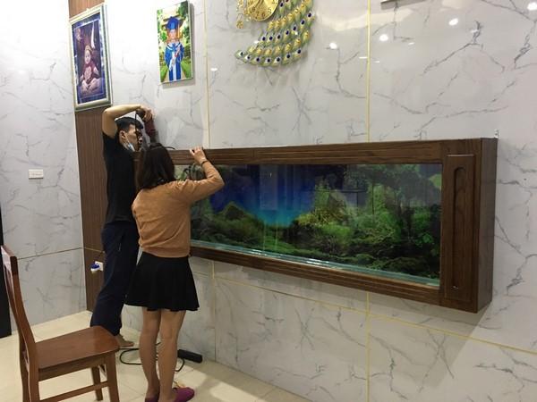 bể cá treo tường 4